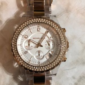 🔥🔥Micheal Kors watch with brand new battery